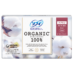 Sofy Hadaomoi Organic pads with wings 23 cm 15 pcs