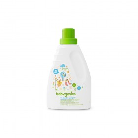 BabyGanics 3x Concentrated Laundry Detergent 1.04L Frag. Free