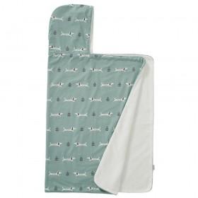 Fresk: Hooded towel 100% organic cotton- Dachsy