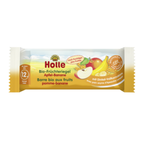 HOLLE ORGANIC FRUIT BAR APPLE&BANANA 25 G