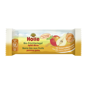 HOLLE ORGANIC FRUIT BAR APPLE&PEAR 25G