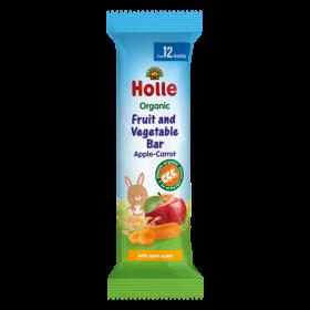 Holle Organic Fruit Bar Apple & Carrot  25 g 12+M