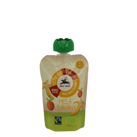 Alce Nero Organic Apple banana puree 6+m 100gr