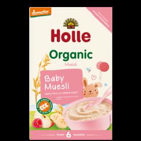 Holle Organic Baby Muesli Porridge 250g  6+M