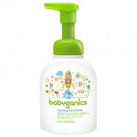 BabyGanics Foam Hand Soap 236ml, Fragrance free