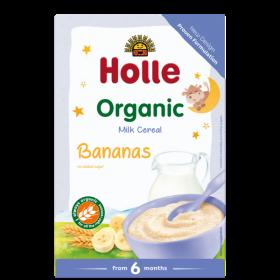 Holle Organic Milk Porridge Banana-Semolina 250g 6+M