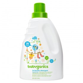 BabyGanics 3x Concentrated Laundry Detergent 1.04 L Frag. Free