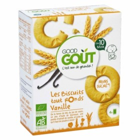 Good Gout ALL ROUND BISCUITS WITH VANILLA 10+ 80g