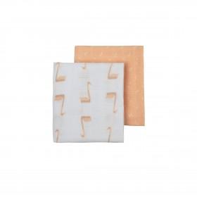 Fresk: Embrace diapers set 2pcs -Swan