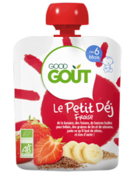 Good Gout Breaky Strawberry 70g