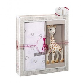 Sophie the Giraffe  Gift set with muslin