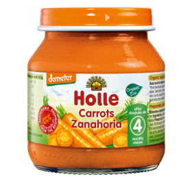 Holle Carrots 125g 4+M