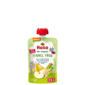 Holle Organic Pear with Apple & Fennel 100g 6+M