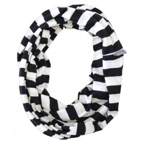 Itzy Ritzy BREASTFEEDING SCARF black-white