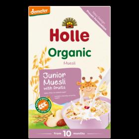 Holle Organic Junior Muesli with Fruit 250g 10+M
