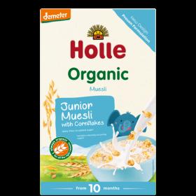 Holle Organic Junior Muesli with Cornflakes 250g 10+M