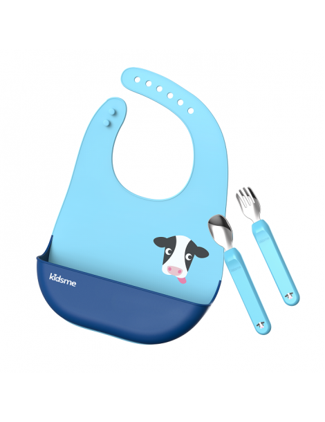 Kidsme Deluxe Dining Set-Aquamarine