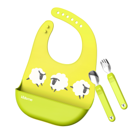 Kidsme Deluxe Dining Set-Lime