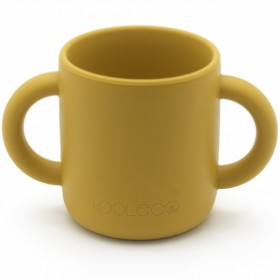 KOOLECO - silicone training cup - Curry