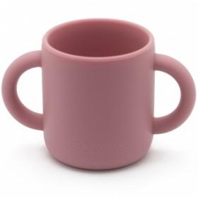 KOOLECO - silicone training cup - Blush