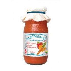 MARMALUZI Apple juice with carrots and pumpkin 100% from 6 months 200 ml