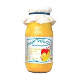 MARMALUZI Apple juice with banana 100% from 6 months 200 ml
