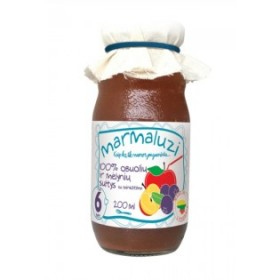 MARMALUZI Apple juice with blueberries 100% from 6 months 200 ml