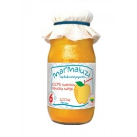MARMALUZI Apple juice 100% from 6 months 200 ml