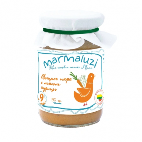 Marmaluzi Chicken with vegetables 190g from 8 months