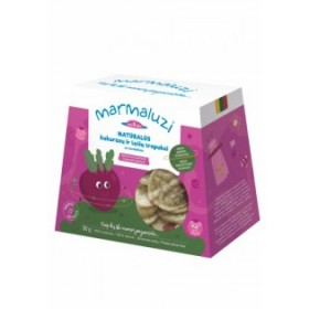 MARMALUZI Corn lentil crisps with beets from 8 months 30 g