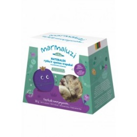 MARMALUZI Rice-wheat crisps with black currant from 8 months 30 g