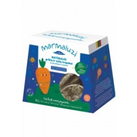 MARMALUZI Buckwheat and lentil crisps with chia and carrots from 8 months. 30 g