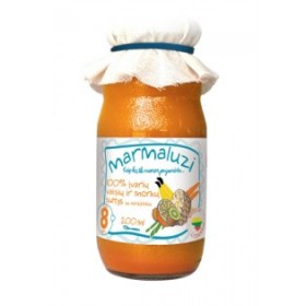 MARMALUZI Multifruit juice with carrots 100% from 8 months 200 ml