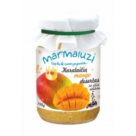 MARMALUZI Royal mango dessert with chia seeds from 8 months. 190g