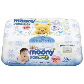 MOONY Flushable Wipes Dispenser 50pcs