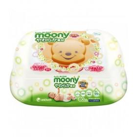 Moony wet tissues (hard case) 80 pcs