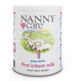 Nanny Care Goat milk nutrition 400g from birth
