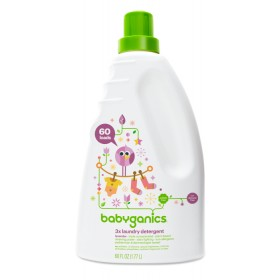 BabyGanics 3x Concentrated Laundry Detergent 1.77L Lavender