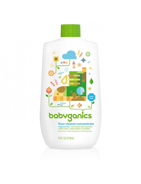 BabyGanics Floor Concentrate 473ml Fragrance Free