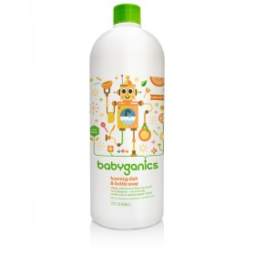 BabyGanics Foam Dish & Bottle Soap Refill, 946ml, Citrus