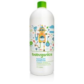 BabyGanics  Dish & Bottle Soap Refill 946ml Fragrance Free
