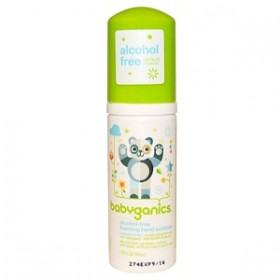 BabyGanics, Foaming Hand Sanitizer,Fragrance Free, 50 ml