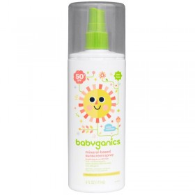 BabyGanics, Mineral-Based Sunscreen Spray, 50 + SPF,177 ml
