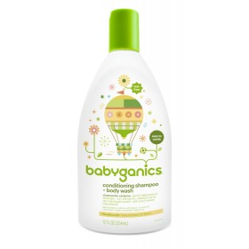 BabyGanics conditioning shampoo + bodywash 12 FL OZ (354 ml) CV