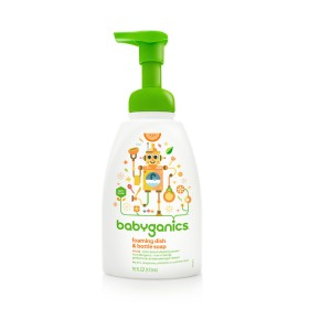 BabyGanics foaming dish & bottle soap 473 ml Citrus
