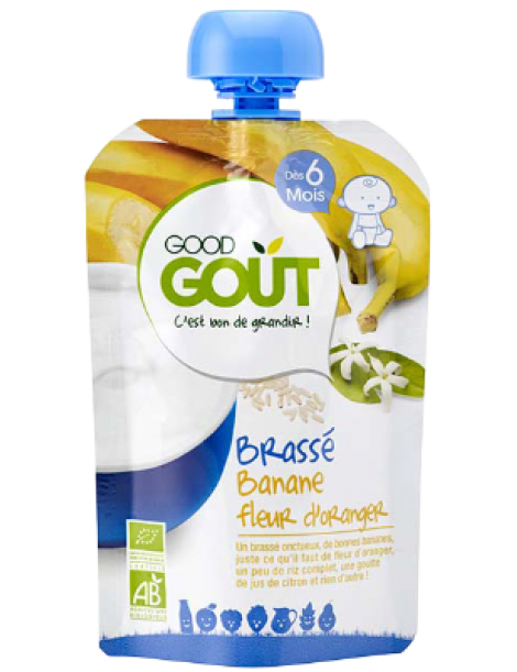 GOOD GOUT BANANA YOGHURT 90GR ΒΙΟ +6M