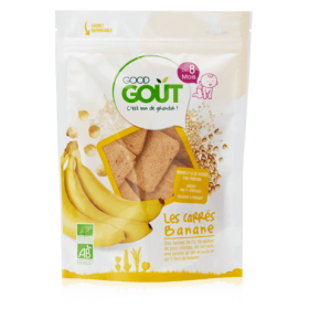 GOOD GOUT THE BANANA SQUARES 50GR +8M