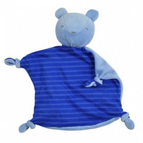 Green Sprouts - Blankie Friend Organic Cotton - Blue