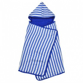 Green Sprouts - Muslin Hooded Towel Organic Cotton - Royal Blue