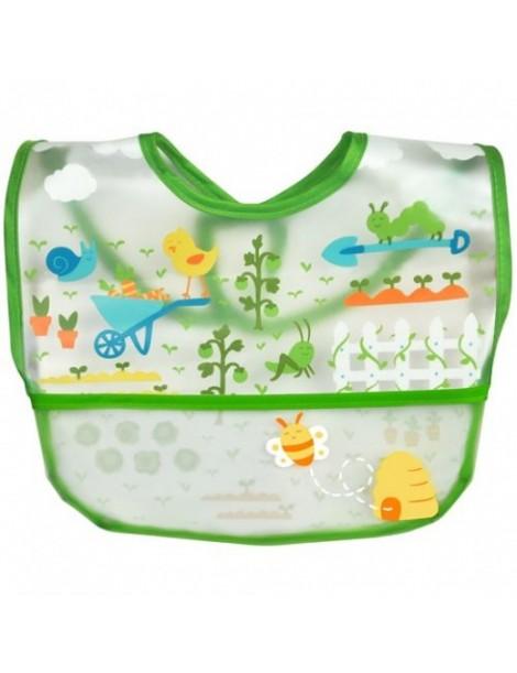 Green Sprouts - Wipe-off Bib - Green Garden
